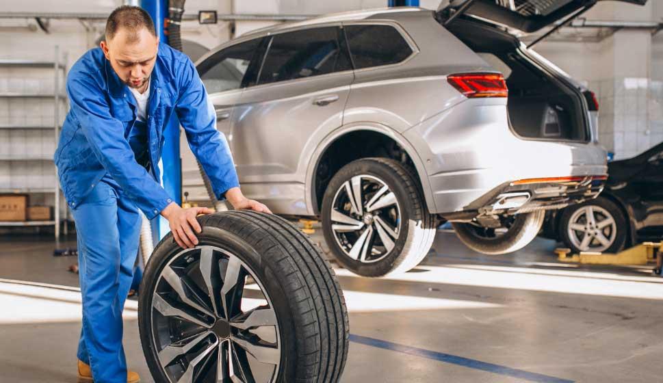 menjava pnevmatik avto jarc